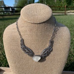Chloe + Isabel Silverwing Collar Necklace